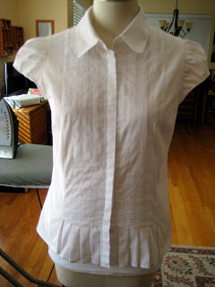 Size 16 to Size 8 Refashioned Blouse2
