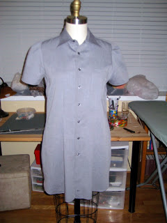 Thrift Shop Refashion of Mens Dress Shirt1