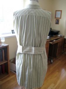 Mens Stripe Shirt Refashion10