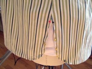 Mens Stripe Shirt Refashion13