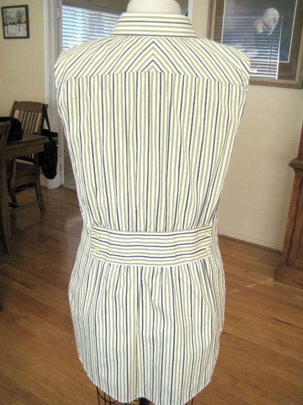 Mens Stripe Shirt Refashion15