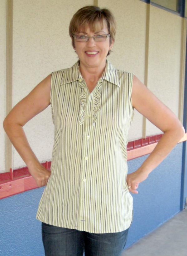 Mens Stripe Shirt Refashion16