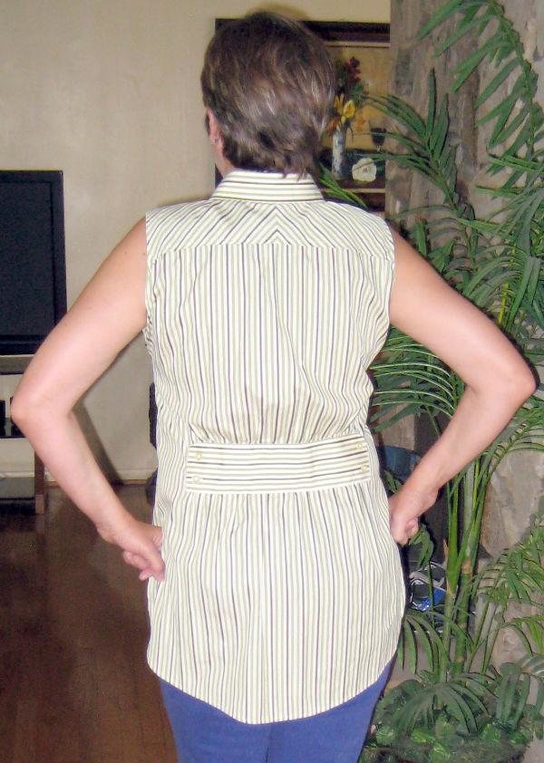 Mens Stripe Shirt Refashion17
